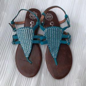 Jeffrey Campbell lbiza Thong Sandal NWOT